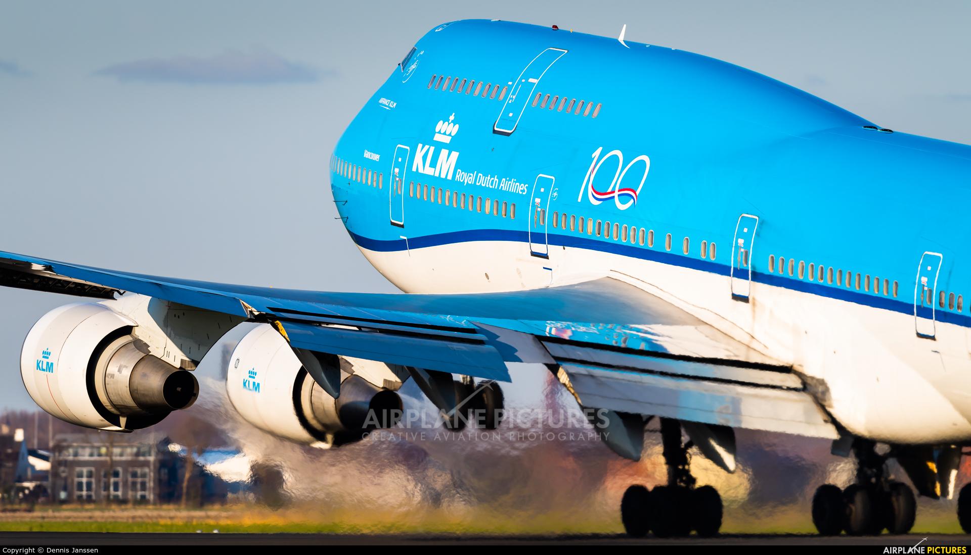KLM PH-BFV aircraft at Amsterdam - Schiphol
