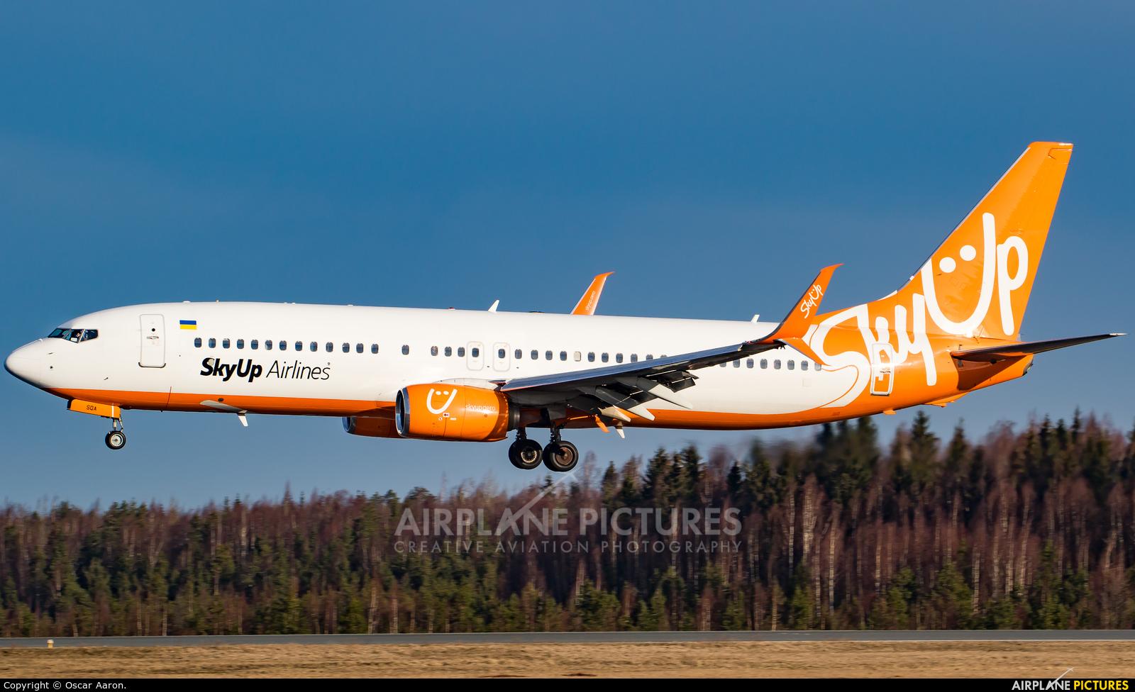SkyUp Airlines UR-SQA aircraft at Helsinki - Vantaa