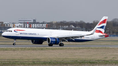 G-NEOR - British Airways Airbus A321 NEO