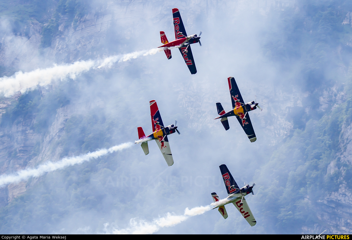 The Flying Bulls : Aerobatics Team OK-FBA aircraft at Mollis