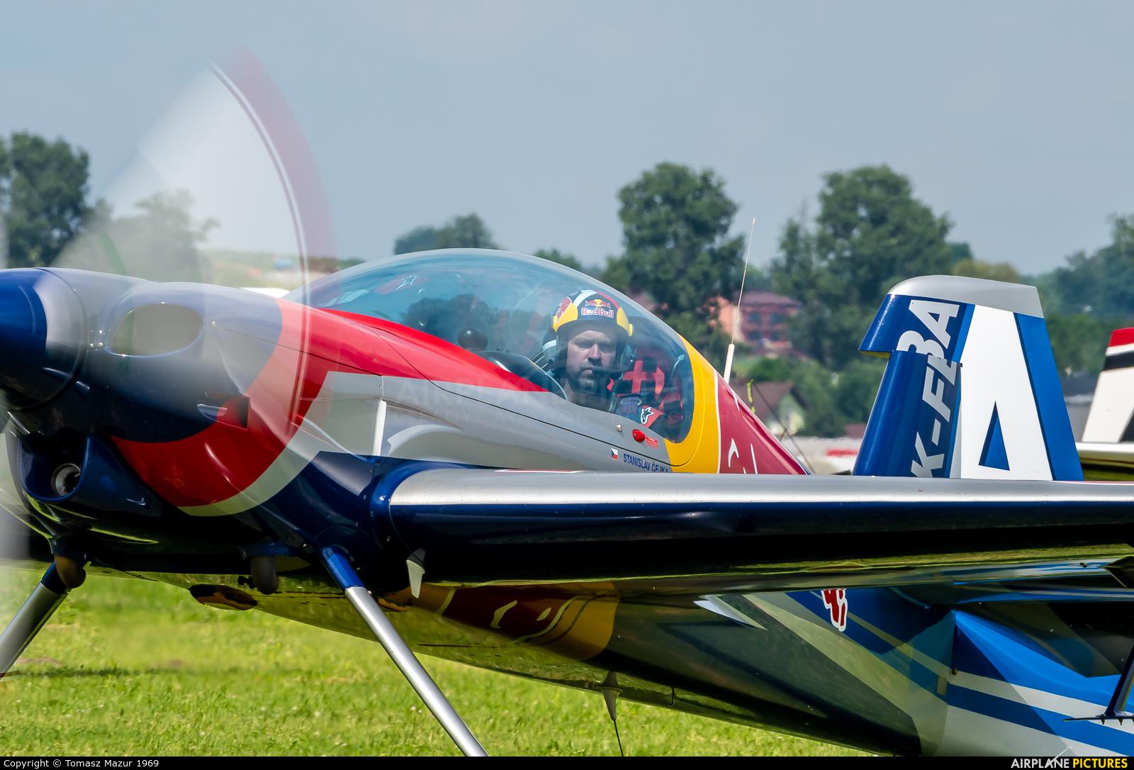 The Flying Bulls : Aerobatics Team OK-FBA aircraft at Kraków - Pobiednik Wielki