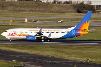 G-JZHL - Jet2 Boeing 737-800