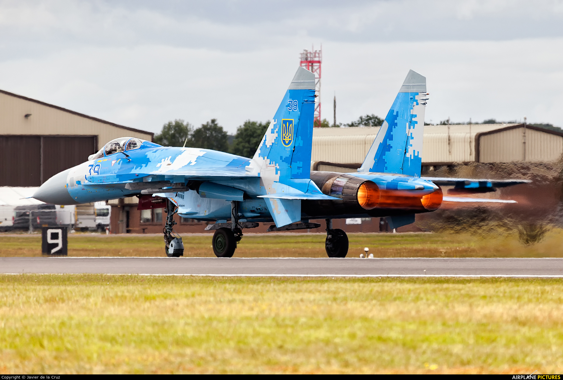 Ukraine - Air Force 39 aircraft at Fairford