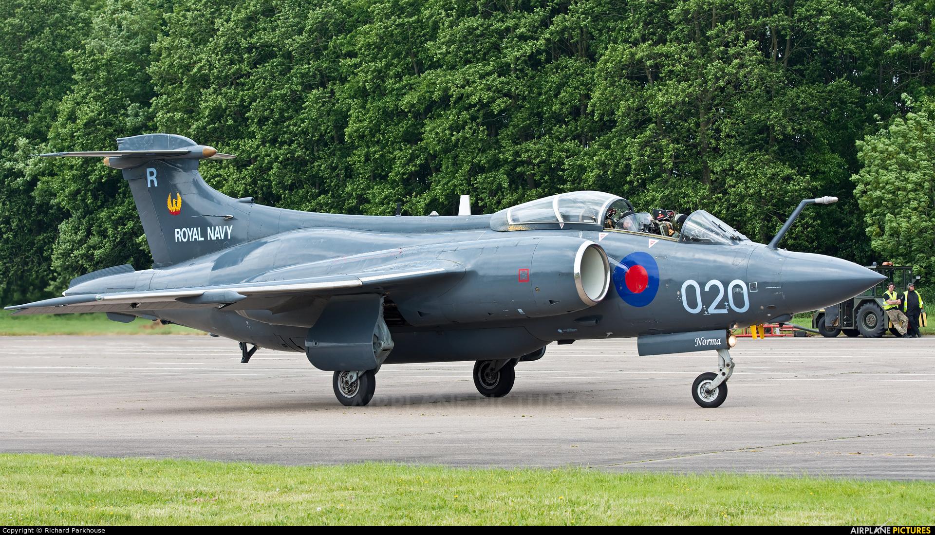Royal Navy XX894 aircraft at Bruntingthorpe