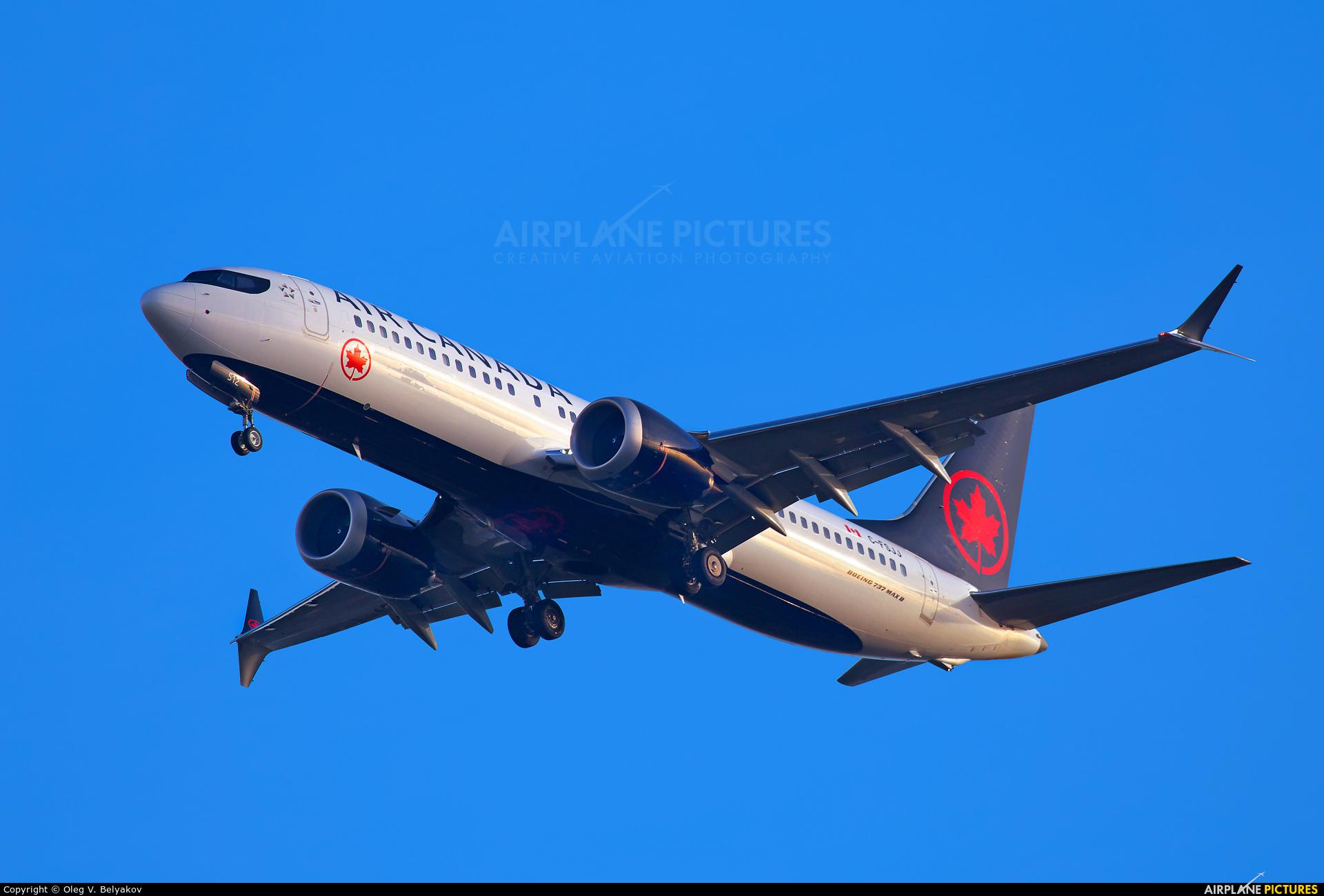 Air Canada C-FSJJ aircraft at London - Heathrow