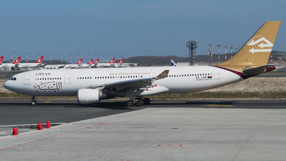 5A-LAR - Libyan Airlines Airbus A330-200