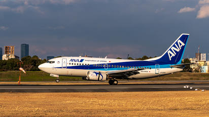 JA306K - ANA - All Nippon Airways Boeing 737-500