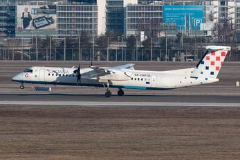 9A-CQD - Croatia Airlines de Havilland Canada DHC-8-400Q / Bombardier Q400