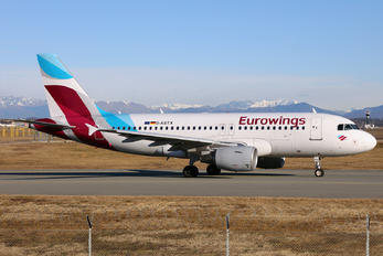 D-ASTX - Eurowings Airbus A319