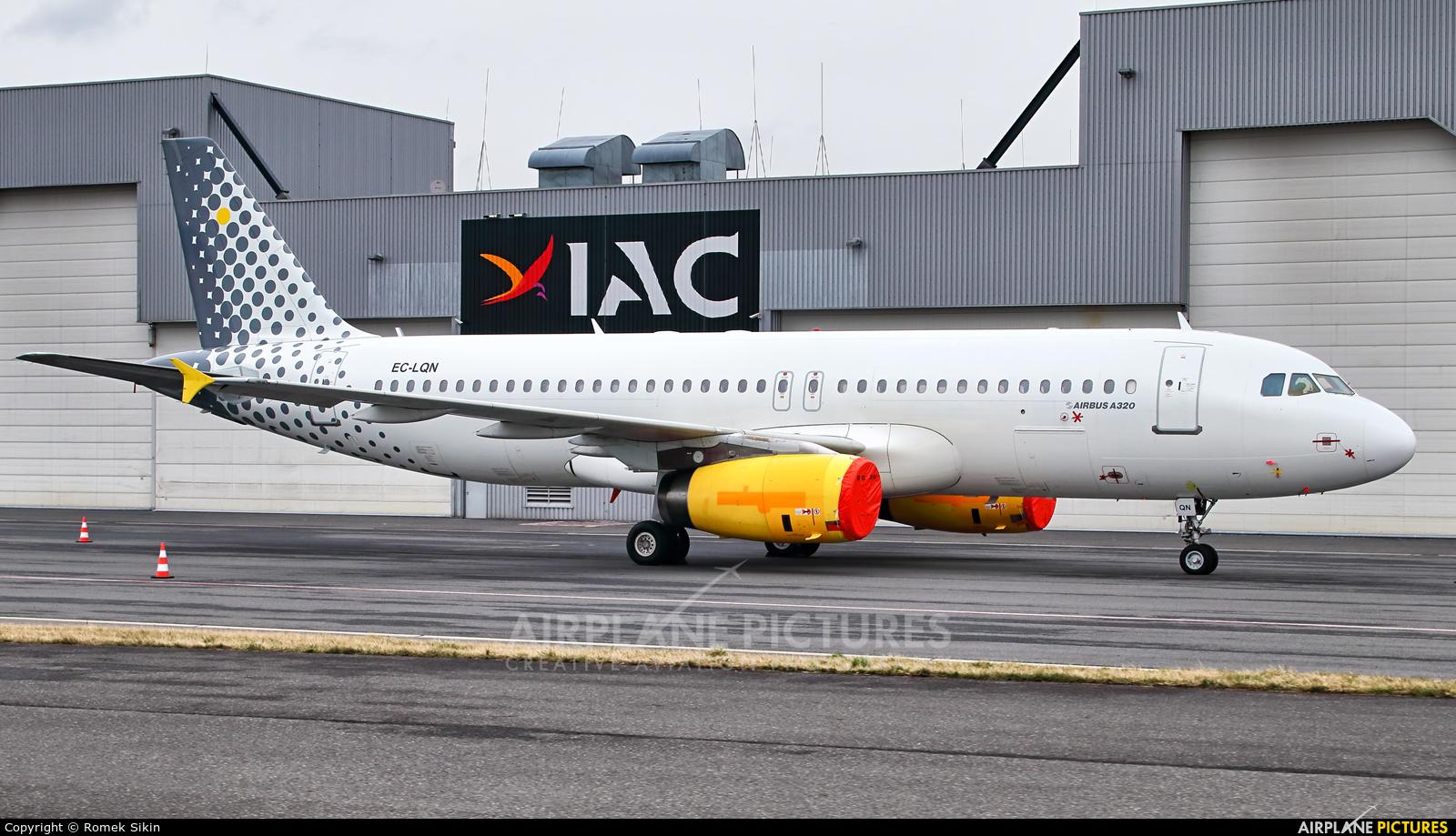 Vueling Airlines EC-LQN aircraft at Ostrava Mošnov