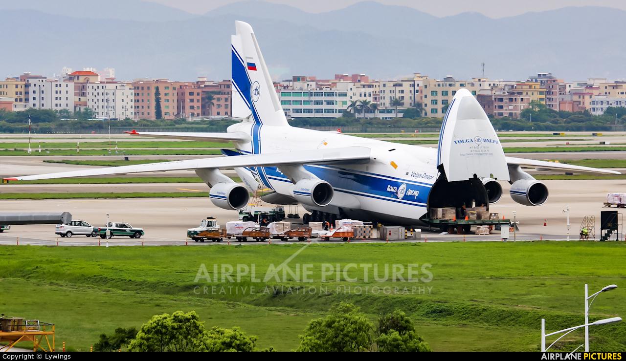 Volga Dnepr Airlines RA-82047 aircraft at Guangzhou - Baiyun