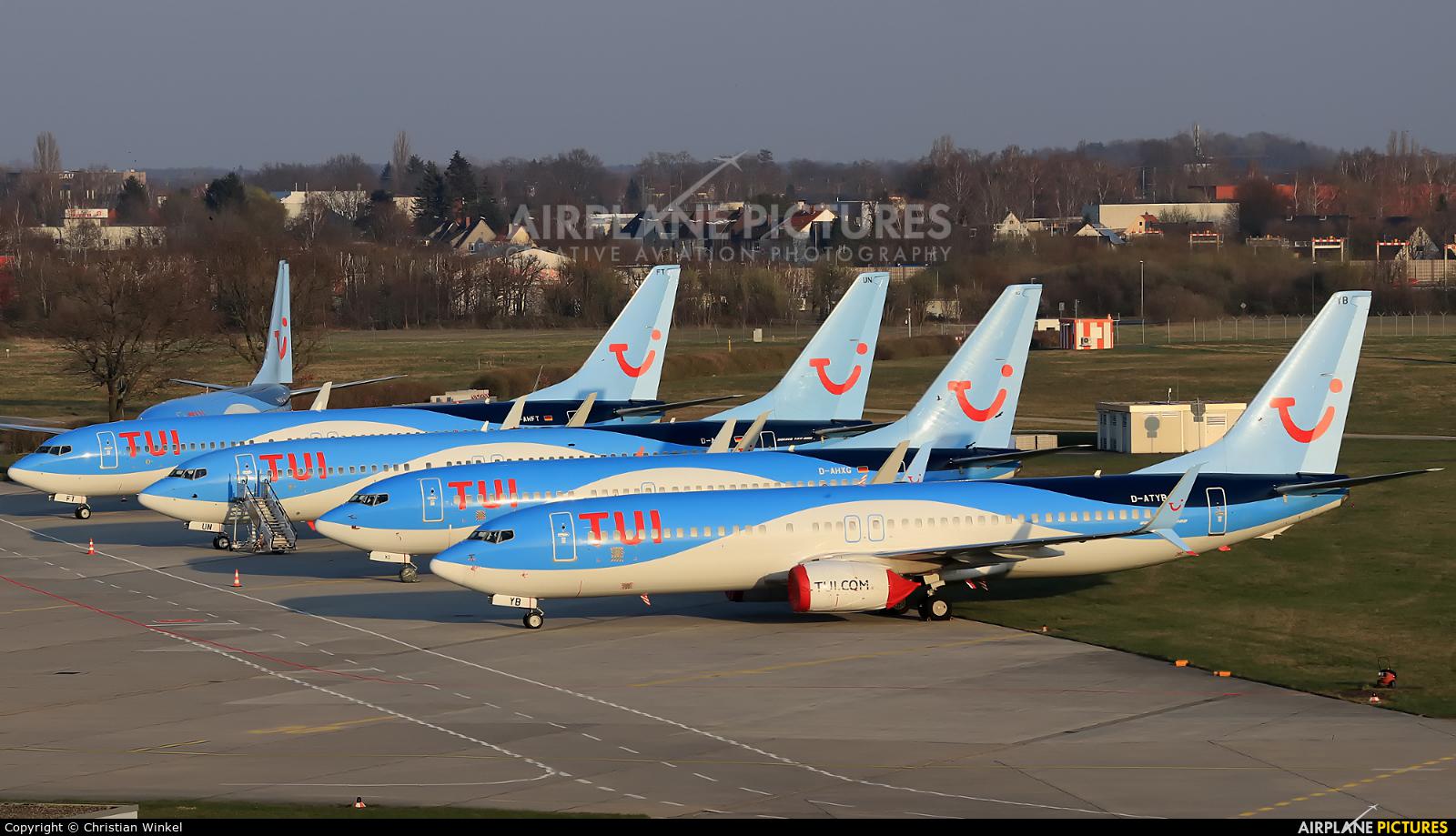 TUIfly D-ATYB aircraft at Hannover - Langenhagen