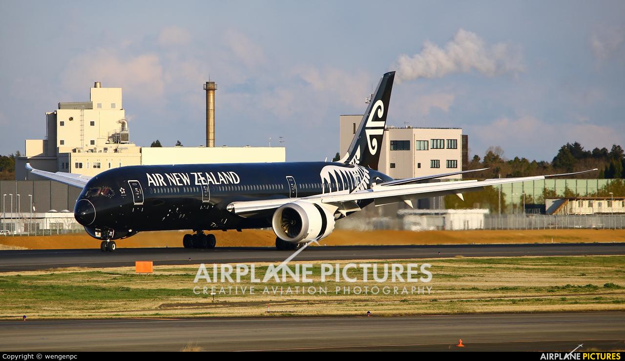 Air New Zealand ZK-NZE aircraft at Tokyo - Narita Intl
