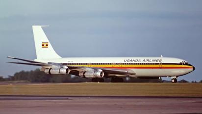 5X-UAL - Uganda Airlines Boeing 707-300