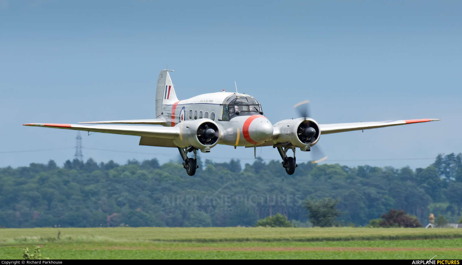 Bae Systems (Operations ) G-AHKX aircraft at Old Warden