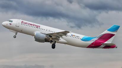 D-ABNU - Eurowings Airbus A320