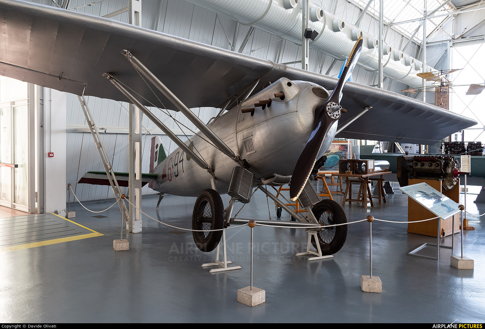 Italy - Air Force MM1208 aircraft at Vigna di Valle - Italian AF Museum