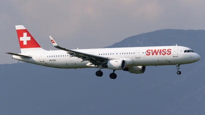 HB-IOO - Swiss Airbus A321