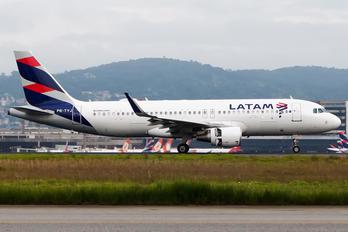 PR-TYJ - LATAM Brasil Airbus A320