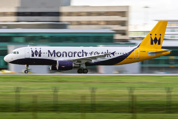 G-OZBY - Monarch Airlines Airbus A320