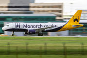 G-OZBY - Monarch Airlines Airbus A320 aircraft