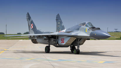 56 - Poland - Air Force Mikoyan-Gurevich MiG-29UB