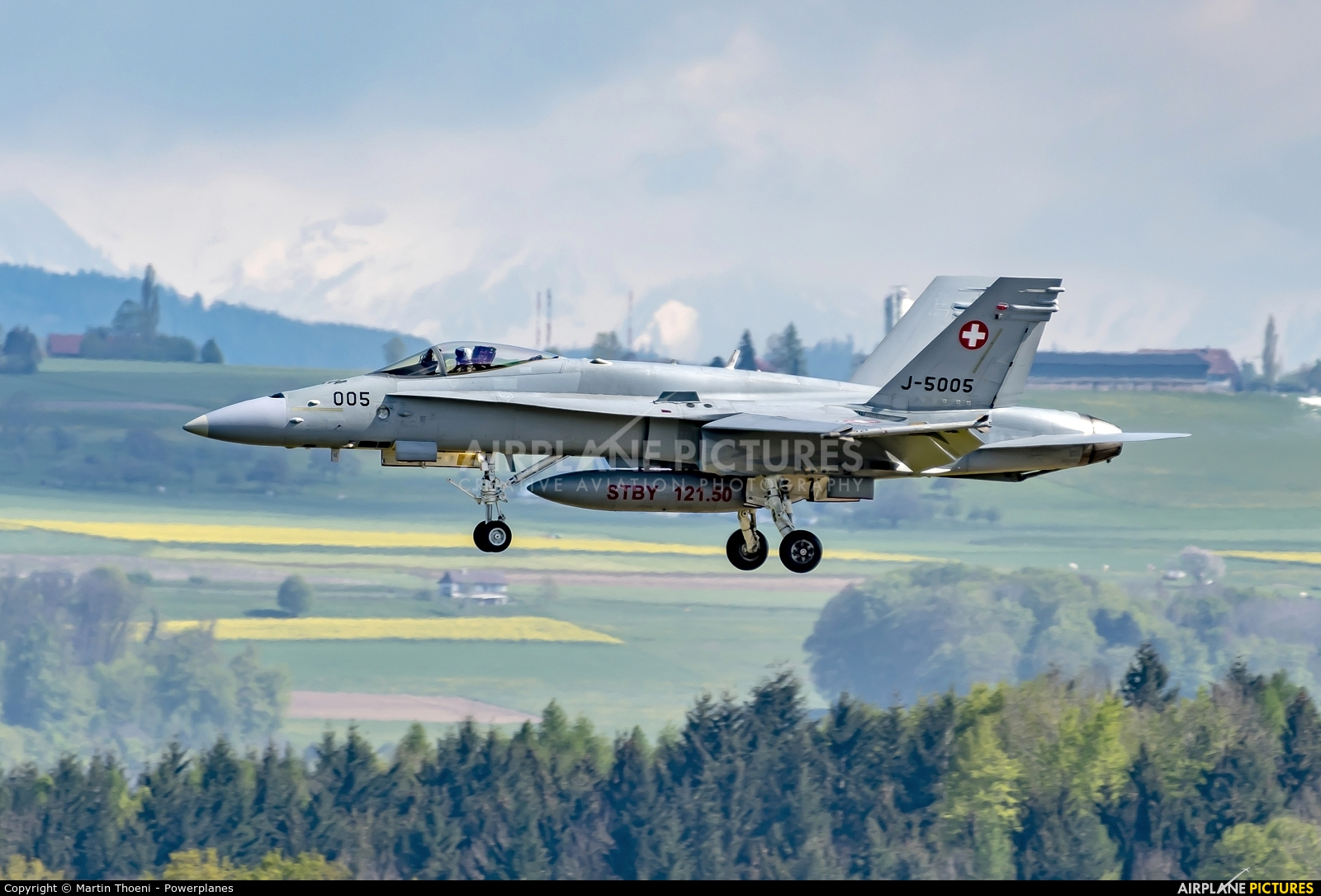 Switzerland - Air Force J-5005 aircraft at Payerne