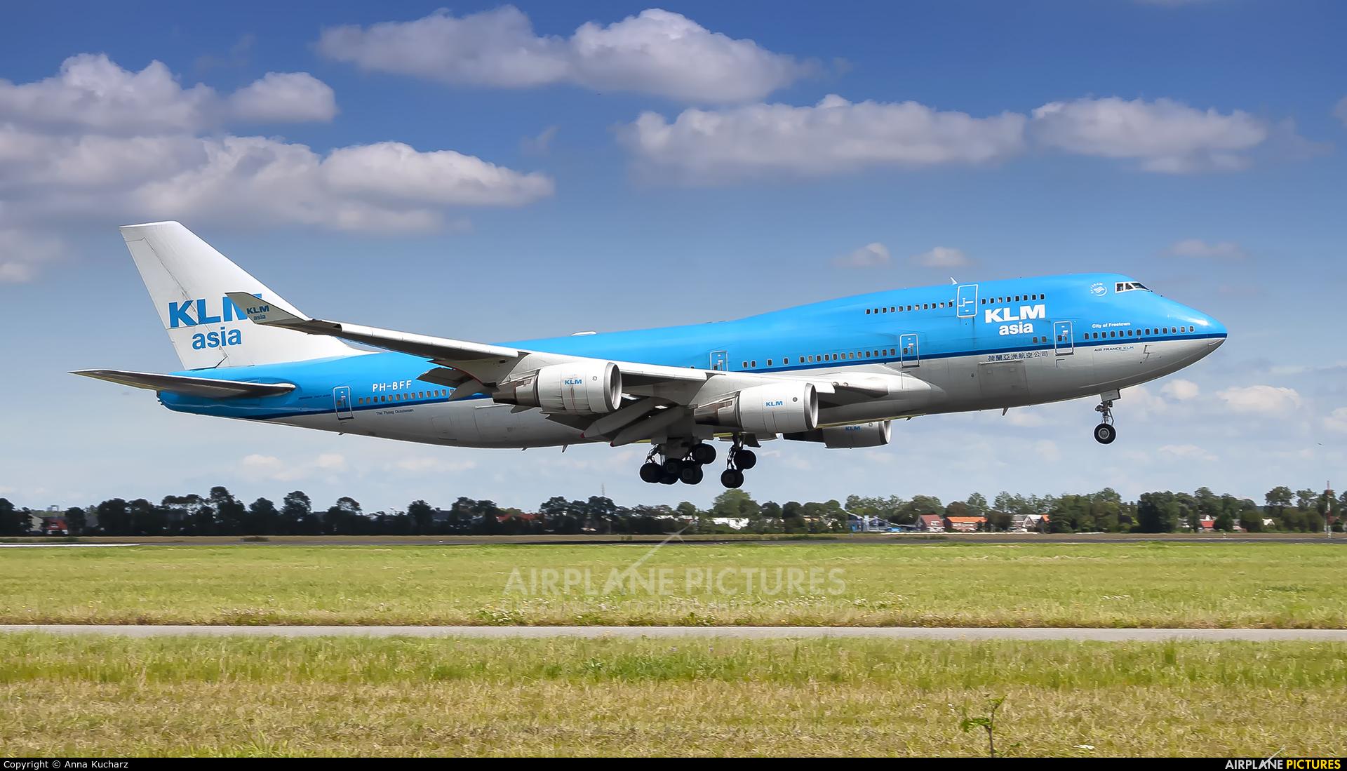 KLM PH-BFF aircraft at Amsterdam - Schiphol