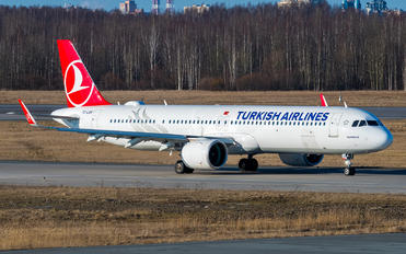 TC-LSH - Turkish Airlines Airbus A321 NEO
