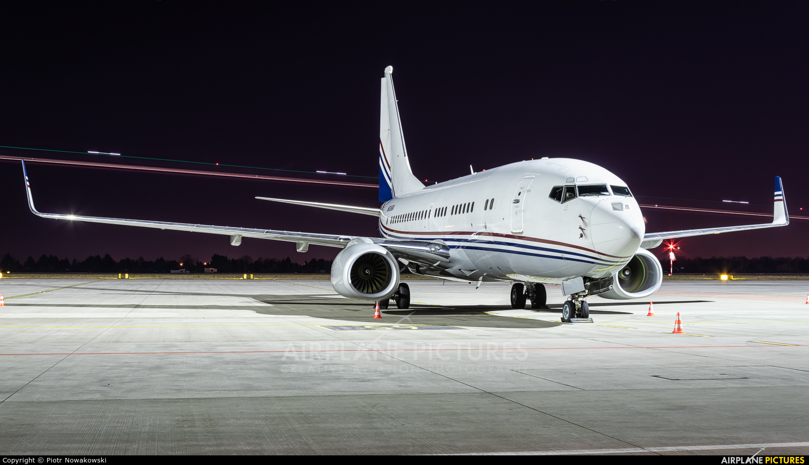 Boeing Company N836BA aircraft at Warsaw - Frederic Chopin
