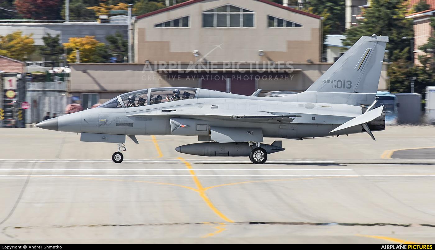 Korea (South) - Air Force 14-013 aircraft at Seongnam AB
