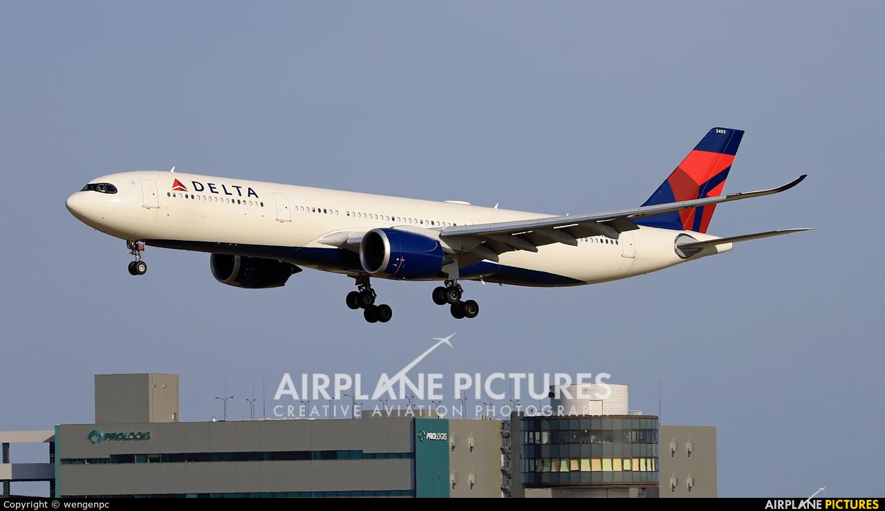 Delta Air Lines N403DX aircraft at Tokyo - Narita Intl