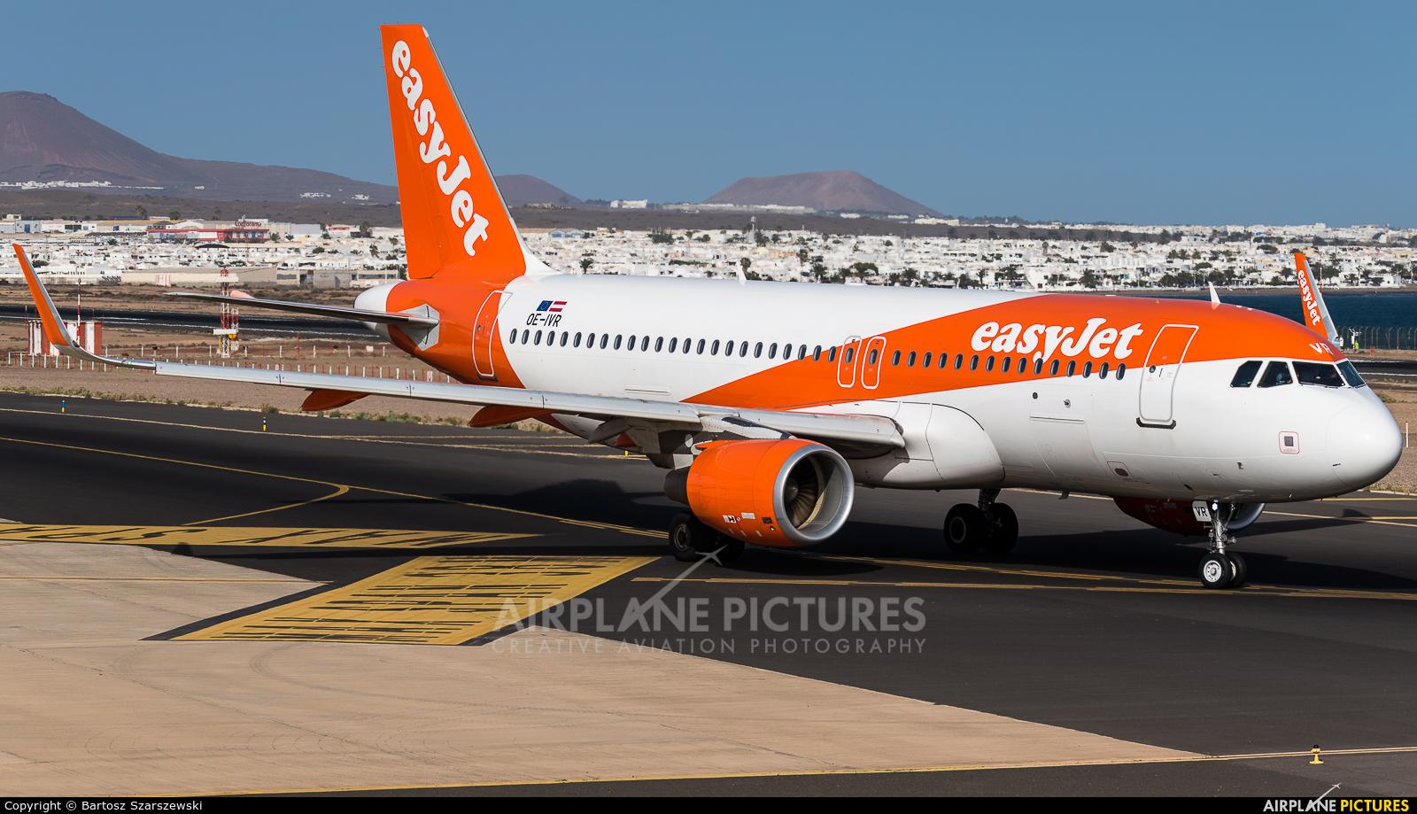 easyJet Europe OE-IVR aircraft at Lanzarote - Arrecife