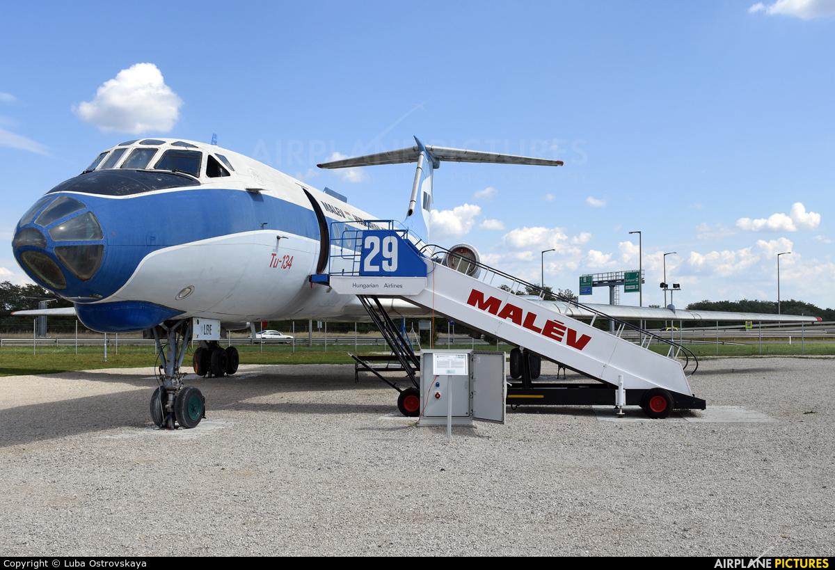 Malev HA-LBE aircraft at Budapest Ferenc Liszt International Airport