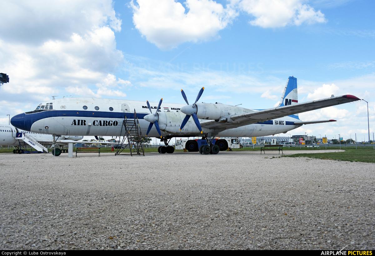 Malev HA-MOG aircraft at Budapest Ferenc Liszt International Airport
