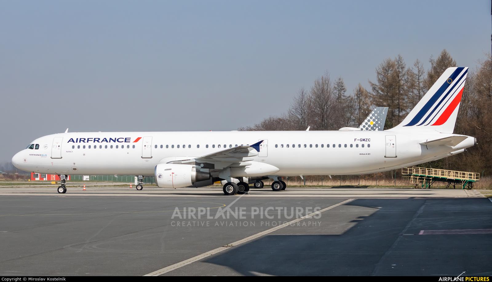 Air France F-GMZC aircraft at Ostrava Mošnov