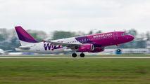 HA-LPZ - Wizz Air Airbus A320 aircraft