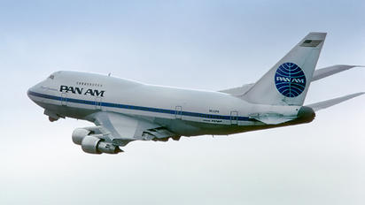 N532PA - Pan Am Boeing 747SP