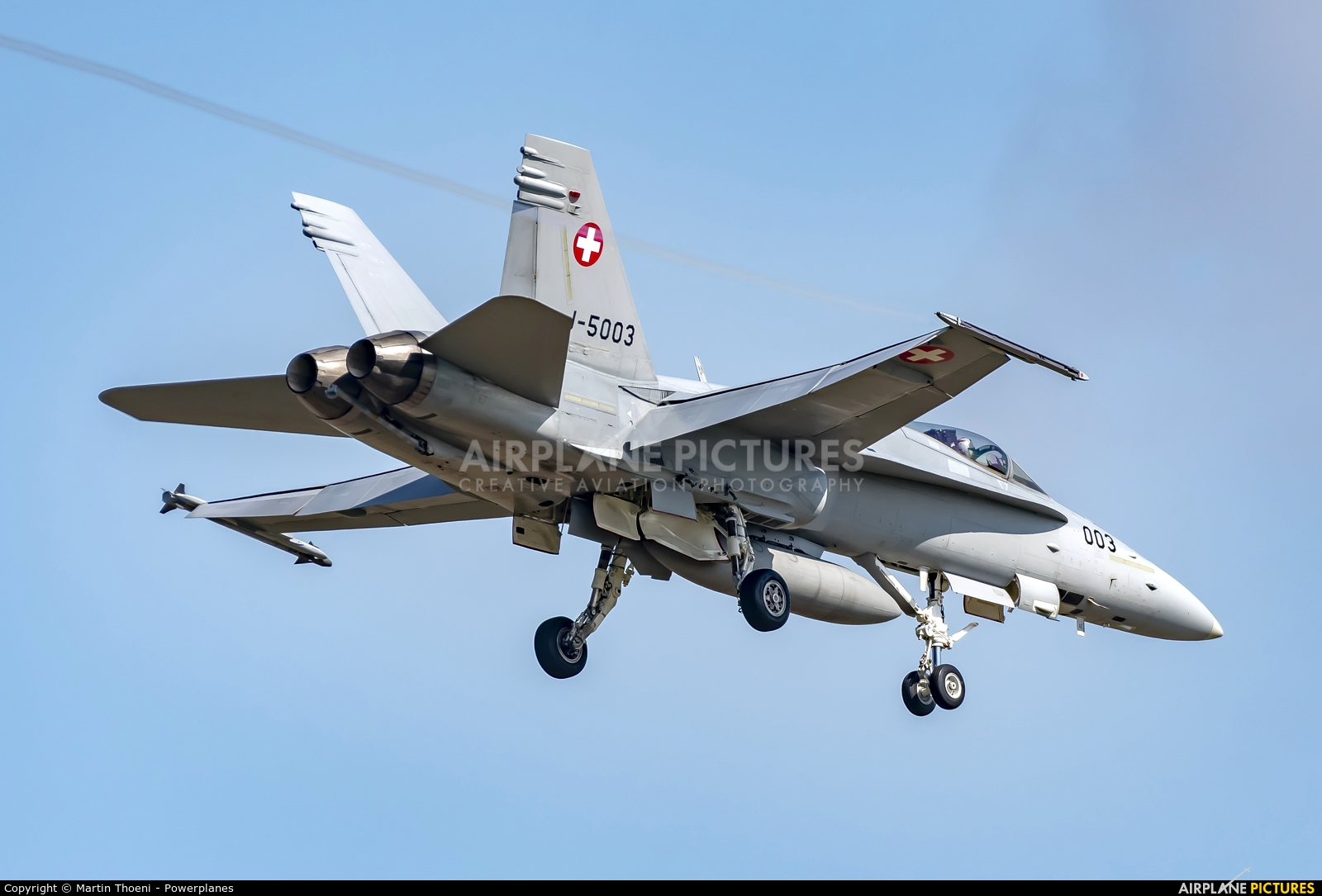 Switzerland - Air Force J-5003 aircraft at Payerne