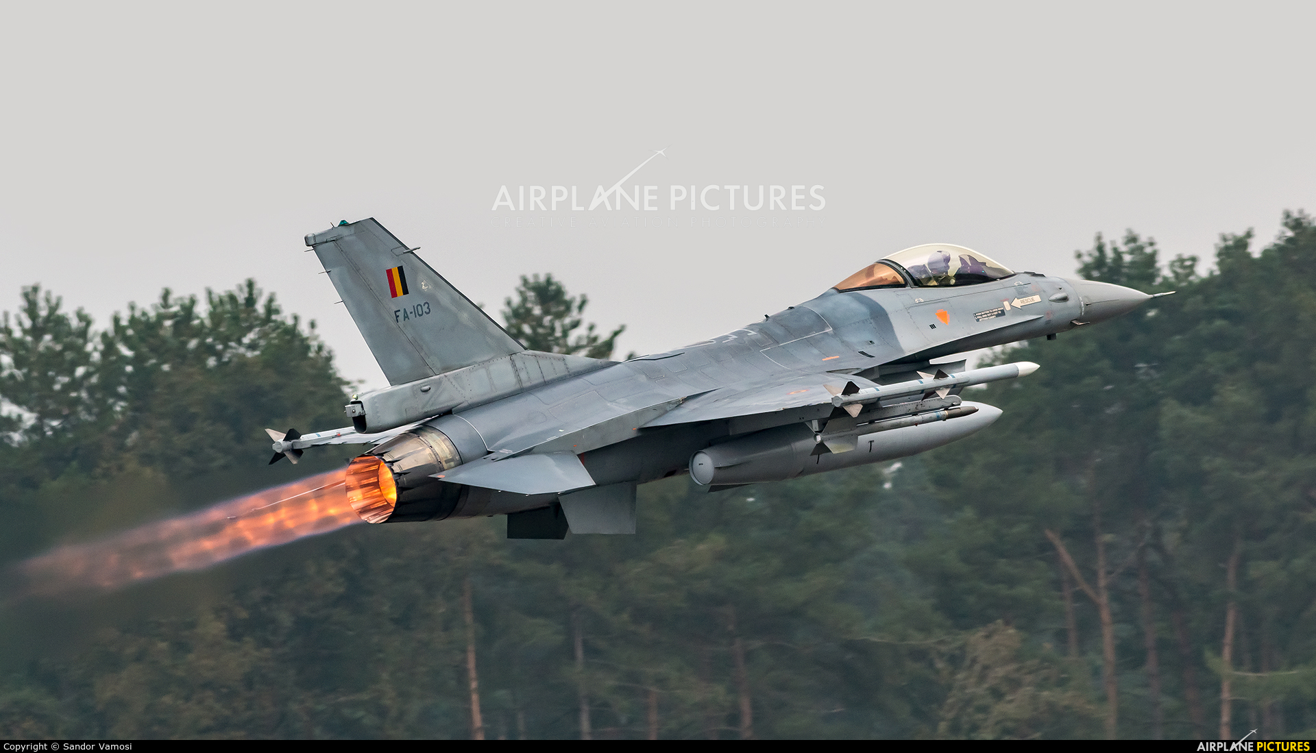 Belgium - Air Force FA-103 aircraft at Kleine Brogel