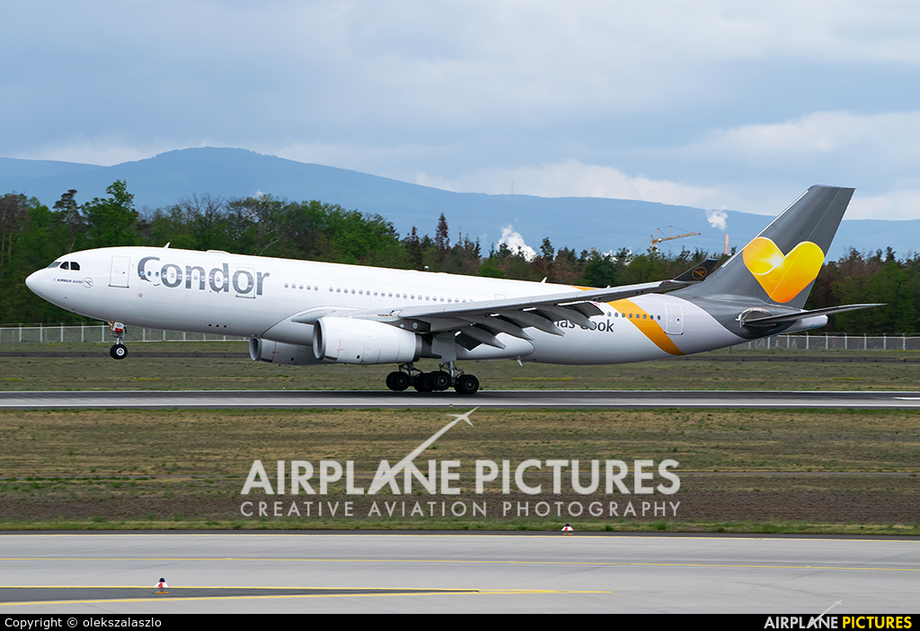 Condor G-TCCI aircraft at Frankfurt