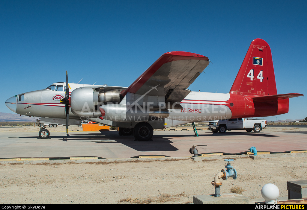 Neptune Aviation Services N1386C aircraft at Lancaster - General William J Fox