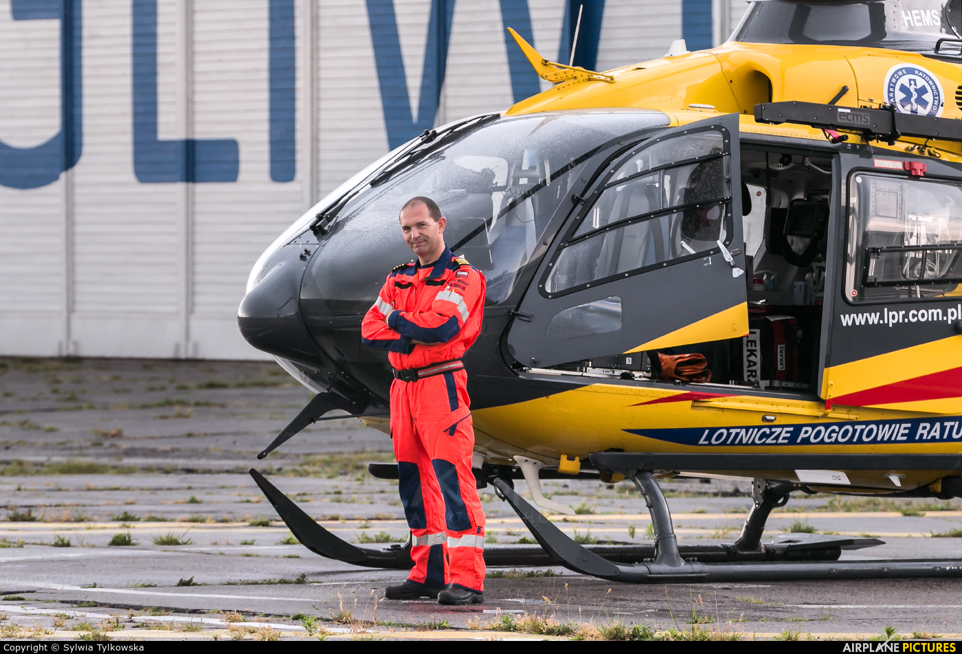 Polish Medical Air Rescue - Lotnicze Pogotowie Ratunkowe - aircraft at Gliwice