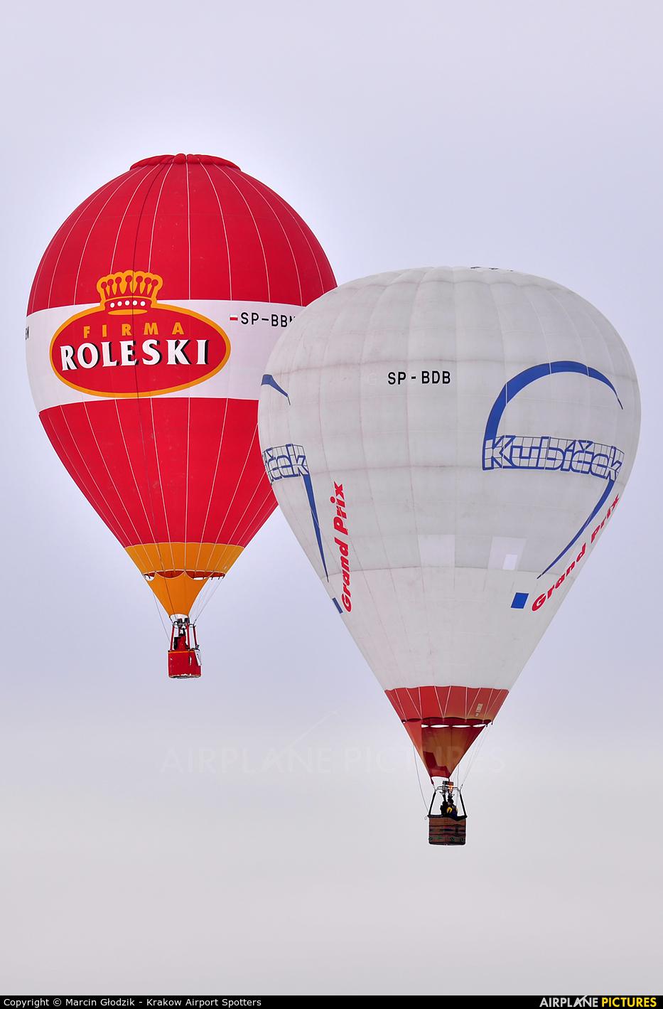 Aeroklub Krakowski SP-BDB aircraft at Nowy Targ Airport