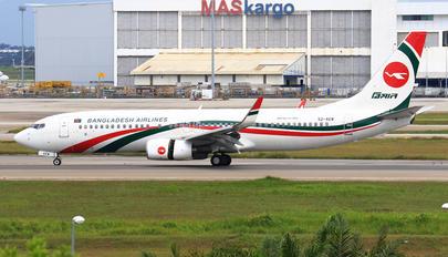 S2-AEW - Biman Bangladesh Boeing 737-800
