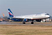 VP-BTK - Aeroflot Airbus A321 aircraft