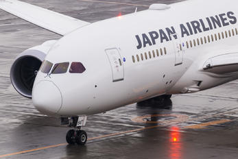 JA847J - JAL - Japan Airlines Boeing 787-8 Dreamliner