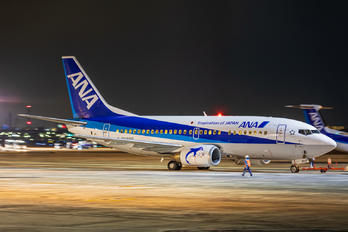 JA305K - ANA Wings Boeing 737-500