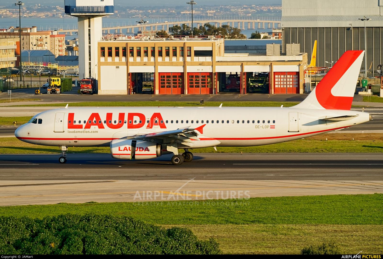 LaudaMotion OE-LOP aircraft at Lisbon