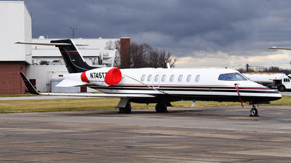 N745TT - Private Learjet 45